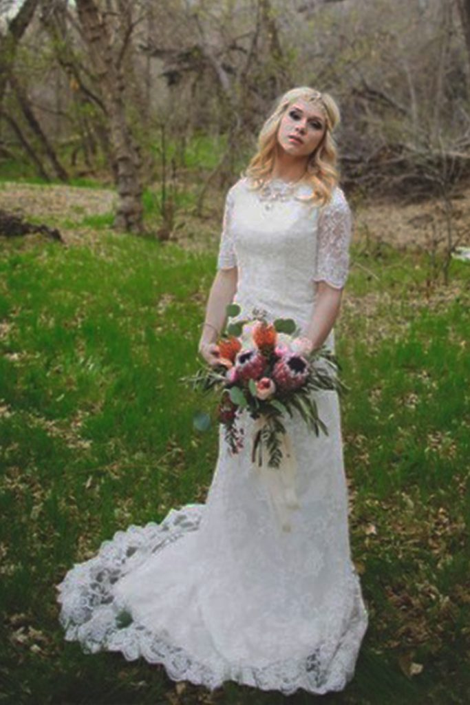 Alexandra-affordable bohemian style | My Amazing Wedding Dress