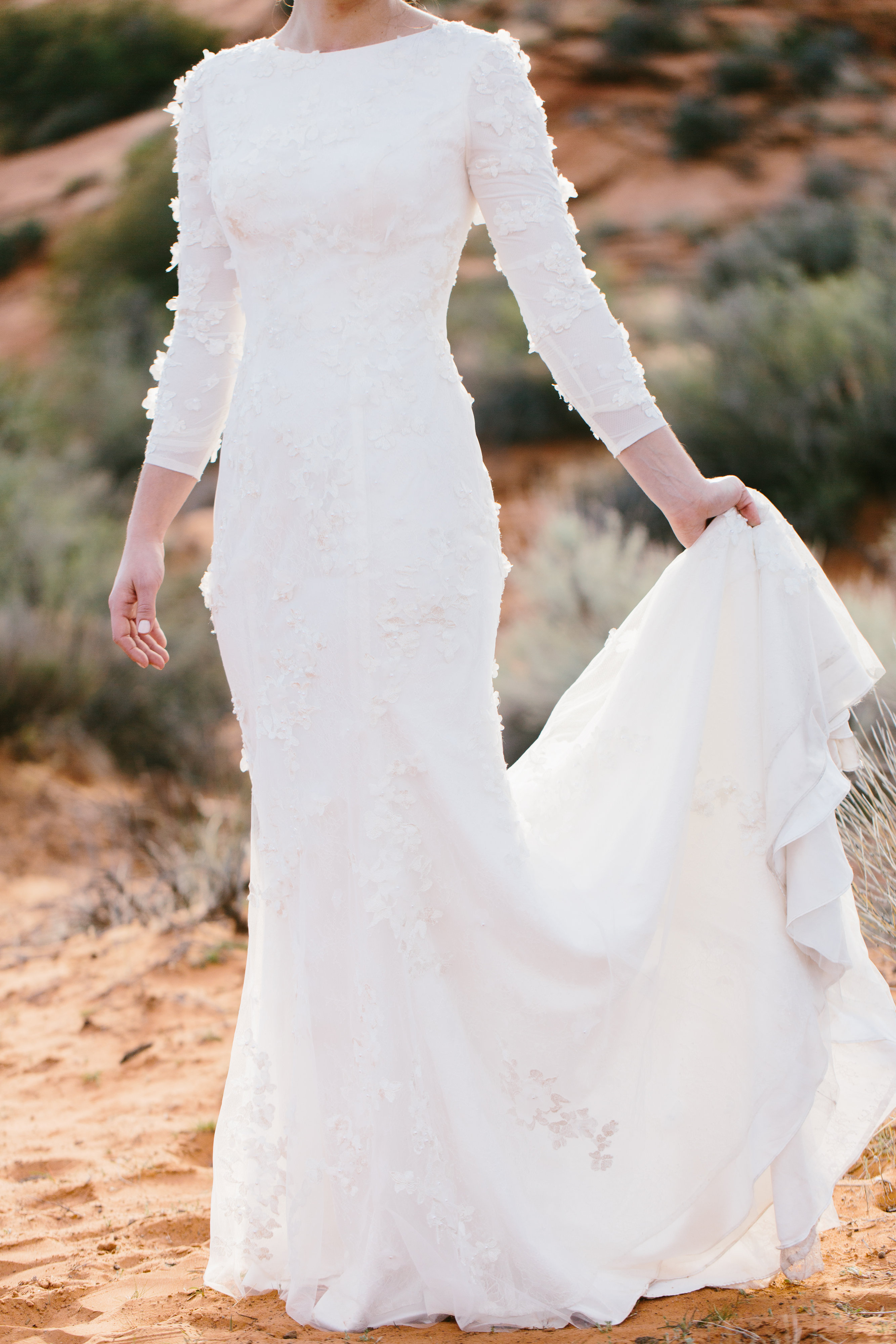 LDS Wedding Dresses, Mormon Wedding Gowns. Temple approved Wedding ...