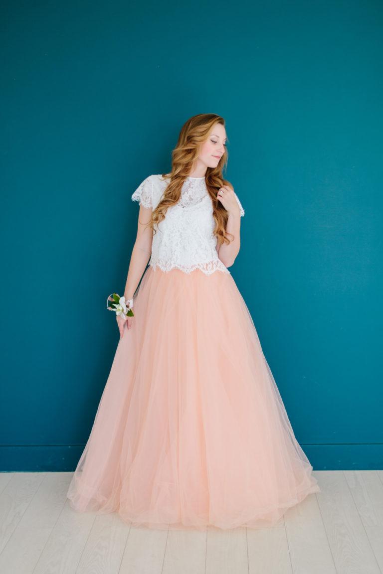 Freedom and Beauty of Separates   My Amazing Wedding Dress